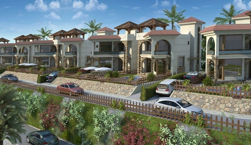 Sharm el sheikh immobiliare progetti oasis ville for Progetti di cottage sulla spiaggia e planimetrie