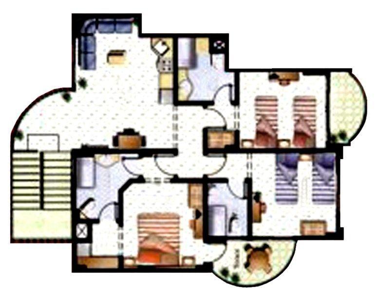 Sharm el sheikh immobiliare il gioiello del montazah for Piani di casa con due master suite al primo piano