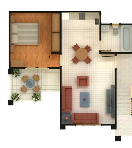 Sharm el sheikh immobiliare sierra resort for Planimetrie per case di 5 camere da letto ranch